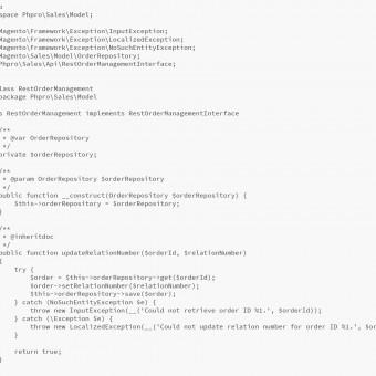 REST API with Magento 2