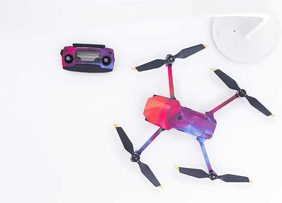 Colorful-drone